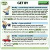 GET BY - Meaning and examples of the English Phrasal Verb GET BY