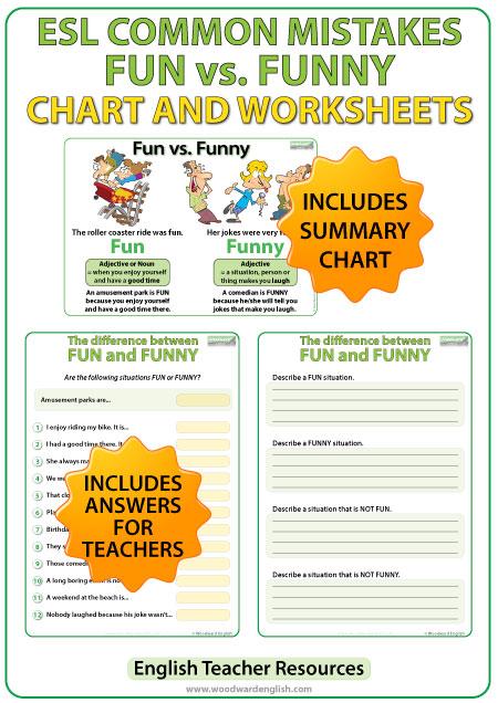 Free Worksheets » Fun Esl Worksheets - Free Printable Worksheets ...
