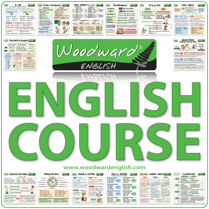 Free English Courses by Woodward English
