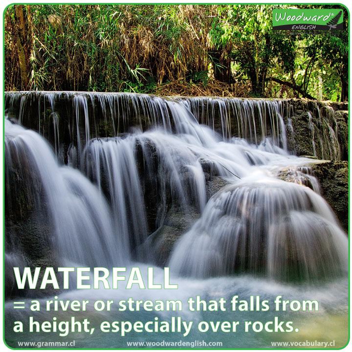 Waterfall - English Meaning / Definition
