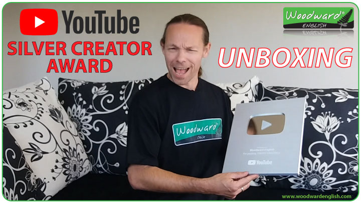 100,000 subscribers on YouTube – Silver Creator Award Unboxing