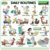 Daily Routines in English - ESL Vocabulary