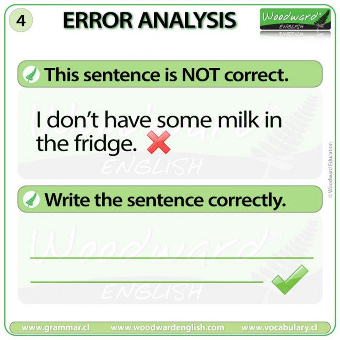 English Error Analysis 4 - Woodward English
