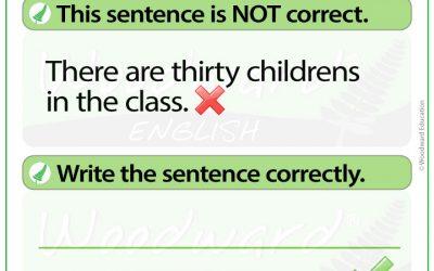 English Error Analysis 7