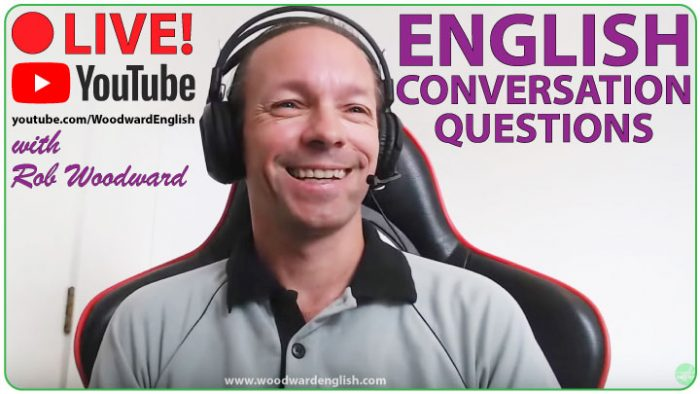 English Conversation Course with Questions by Woodward English